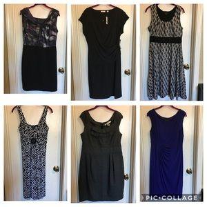 Dresses & Skirts - Women's Bundle of 6 pc dresses Sz L/12